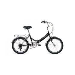 """Складной велосипед Forward Arsenal 20 2.0 (2020) Черно-серый 20"""""""
