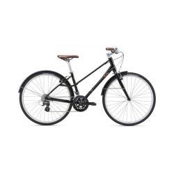 """Женский велосипед Giant BeLiv F (2019) Черный 18.5"""""""