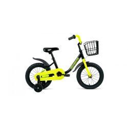 """Детский велосипед Forward Barrio 14 (2020) Черный 14"""""""