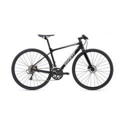 Городской велосипед Giant FastRoad SL 3 (2020) Черно-серый 55 см