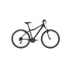 """Женский велосипед Kellys VANITY 20 27.5"""" (2018) Черно-фиолетовый 19"""""""
