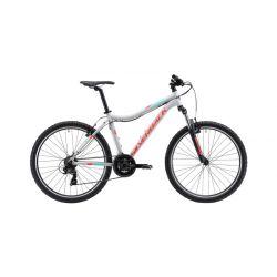 "Женский велосипед Silverback Stride 26 SLD (2019) Черно-фиолетово-синий 15.5"""