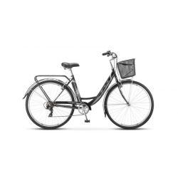 """Комфортный велосипед Stels Navigator 395 Z010 (2018) Черный 20"""""""