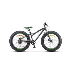 """Подростковый велосипед Stels Aggressor D 24"""" V010 (2019) Черный 24"""""""