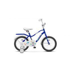 """Детский велосипед Stels Wind 16"""" Z010 Синий"""