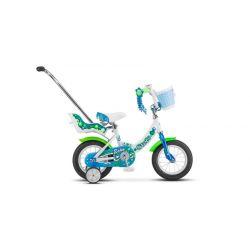 """Детский велосипед Stels Echo 12"""" V020 Белый/Морская-волна"""