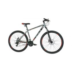 """Горный велосипед Stels Navigator 500 MD F010 Черно-красный 16"""""""