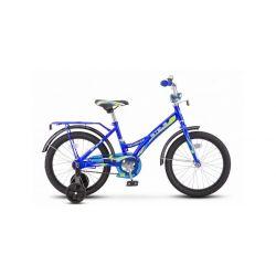 """Детский велосипед Stels Talisman 16"""" Z010 Синий"""
