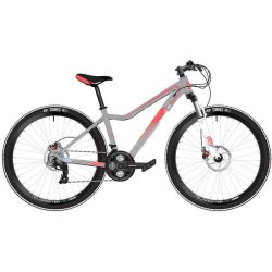"Женский велосипед Stinger Vesta Std 26"" 2020 серый"