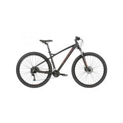 """Велосипед горны Double Peak 27.Five Trail 16"""" матово-черный 2020"""
