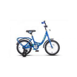 """Детский велосипед Stels 14"""" Flyte Z011 Синий"""