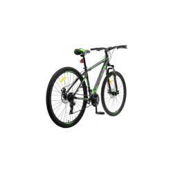 """Горный велосипед Stels Navigator 900 MD F010 Черно-зеленый 21"""""""