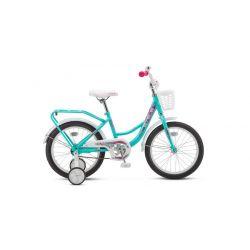 """Детский велосипед Stels Flyte Lady 16"""" Z011 Бирюзовый"""