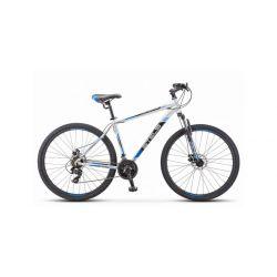 """Горный велосипед Stels Navigator 900 MD F010 Серебристо-синий 17.5"""""""