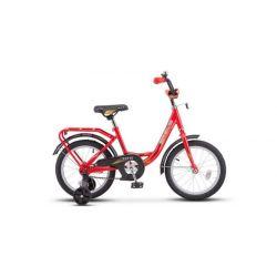 """Детский велосипед Stels 14"""" Flyte Z011 Черно-красный"""