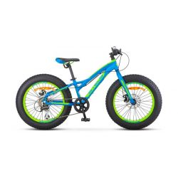 """Велосипед Stels Aggressor D 26"""" V010 Синий (FAT) 20"""""""