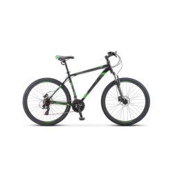 """Горный велосипед Stels Navigator 700 MD F010 Черно-зеленый 17.5"""""""