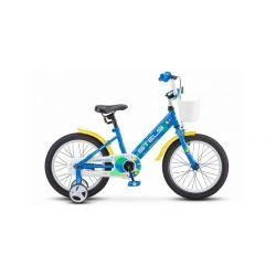 """Детский велосипед Stels 16"""" Captain V010 Синий"""