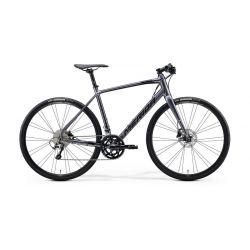 Городской велосипед Merida Speeder 300 2021 (серый, L)