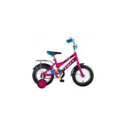 """Велосипед FOXX 12"""", CMYK, бордовый"""