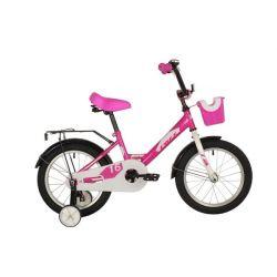 """Велосипед FOXX 16"""" SIMPLE розовый"""