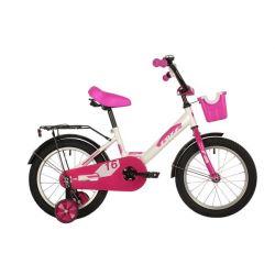 """Велосипед FOXX 16"""" SIMPLE белый"""