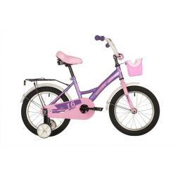 """Велосипед FOXX 16"""" BRIEF фиолетовый"""
