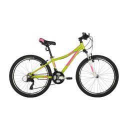 """Велосипед FOXX 24"""" CAMELLIA зеленый, алюм. рама 12"""""""