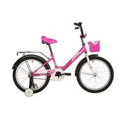 """Велосипед FOXX 20"""" SIMPLE розовый"""