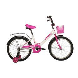 """Велосипед FOXX 20"""" SIMPLE белый"""