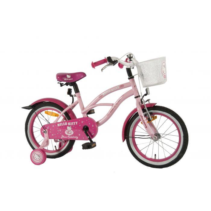 "Четырехколесный велосипед для девочек Volare -  Hello Kitty Cruiser pink 16"""