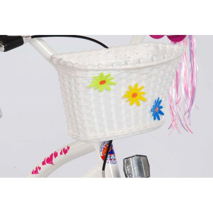 """Четырехколесный велосипед для девочек Volare - Volare cruiser heart 16"""""""