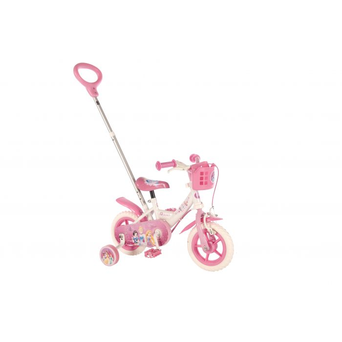 """Велосипед детский для девочек Volare (доп.колеса+ручка) - Disney Princess 10"""""""