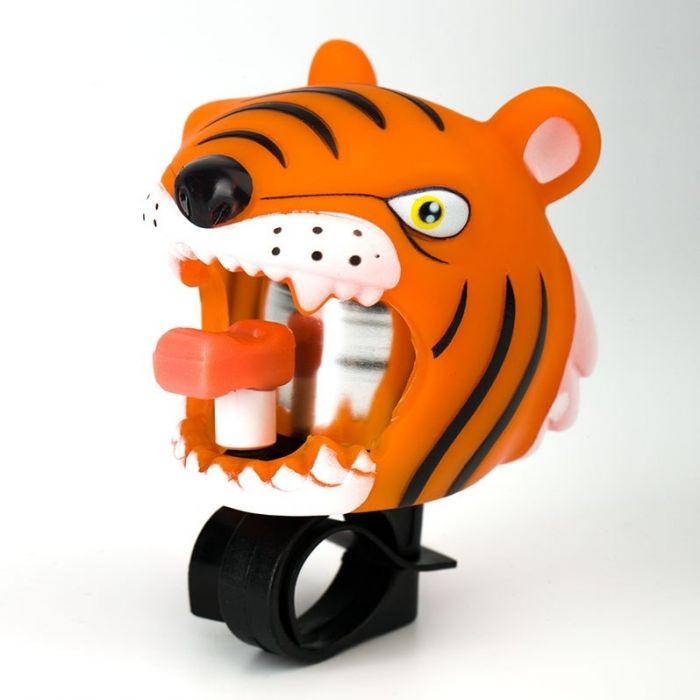 Звонок велосипедный Crazy Safety - Тигр