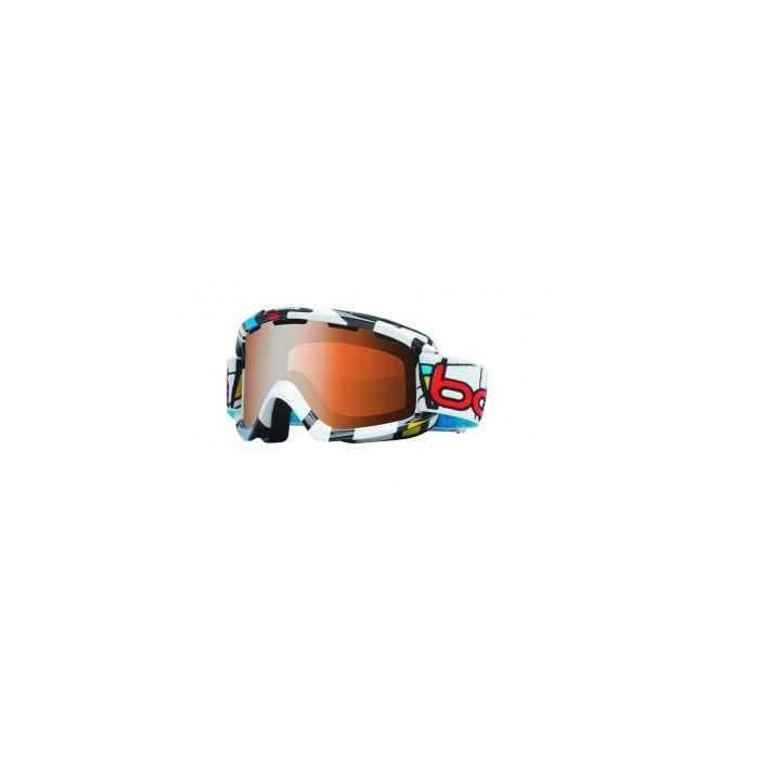 Маска горнолыжная Bolle Nova Tiki Mondrian/Modulator Citrus Gun